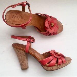 Naya Flower Heels